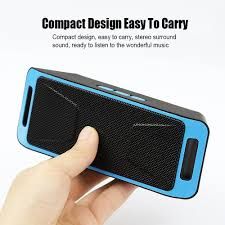 Bose Wave Radio Under Cabinet by Mini Sc208 Bluetooth 4 0 Wireless Speaker Tf Sd Card Usb Fm Radio