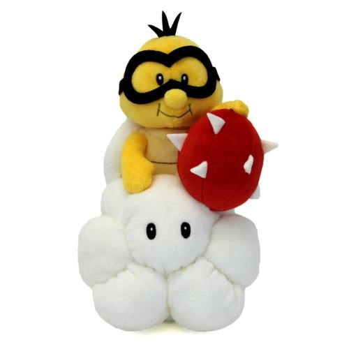 Super Mario All Star Collection Lakitu Plush Toy - 9""