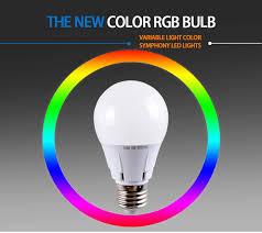huanxin colorful rgb led bulb l high brightness led bulb 5w