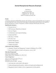 Dental Front Desk Receptionist Resume by Cover Letter For Front Desk U2013 Aimcoach Me