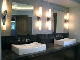 mid century modern bathroom lighting paperobsessed me