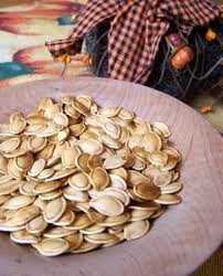 Toasting Pumpkin Seeds In The Oven by Roasted Pumpkin Seeds Recipe 6 Weight Watchers Points Plus Value