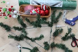 DIY Christmas Mesh Deco Wreath Materials