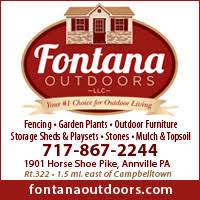 sheds swing sets fencing mulch annville pa fontana outdoors llc