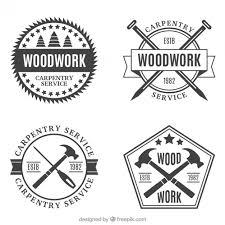 Several Vintage Carpentry Badges