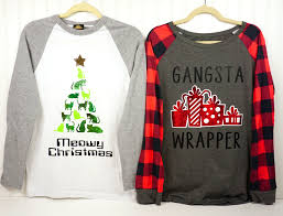 Funny Christmas Shirts with Cricut Free Cut Files Happiness