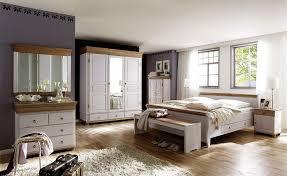 schlafzimmer 8teilig sam kiefer massiv 2farbig weiß antik casade mobila
