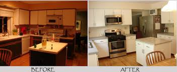 How To Paint Laminate Kitchen Cabinets Painting Laminate Kitchen