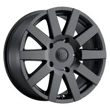100 Discount Truck Wheels Black Rhino Journey Rims 17x75 5x160 Black Matte 45