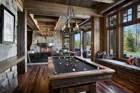 Mountain Style Game Room Photo In Other