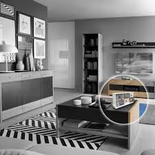 mini kommode schubladen ablagefläche schmuckkasten mit stauraum zur aufbewahrung aus holz 6 fächer breit schlafzimmer wohnzimmer platzsparend lhc40w