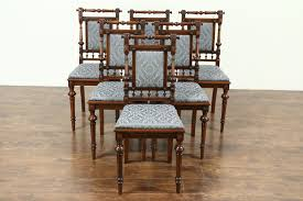 Victorian Renaissance Antique Set Of 6 Walnut Dining Chairs, New Upholstery How To Use Brown Antique Fniture Furnishings House Folding Chair Stock Photos Cheap Cane Chairs Find Deals On Paint A Ding Room Table Home Guides Sf Ca1900 Antique Set 6 Oak Victorian P Derby Tback Small Button Back Hot Item New Design Two Sides Arch Set Wedding Backdrop For Party Vbanquet Decoration Elbow Elm Bowback Smokers Captains Desk C1880 Lighting Light Fixtures With Large Applying Decorative Upholstery Tacks And Nailhead Trim Woodleather Folding Stool History Britannica