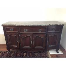 Gorgeous Granite Top Dining Room Buffet Sideboard By Bernhardt We Love This Piece But