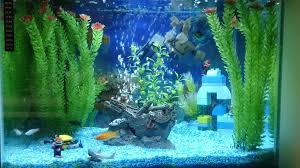 Homemade Lava Lamp Fish Tank by Lego Fish Tank Fish Tank Pinterest Fish Tanks And Room