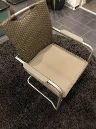 stühle ratan schwing stuhl esszimmer gartenmöbel freischwinger