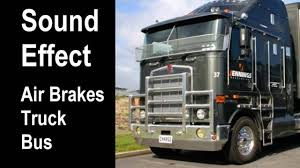 100 Truck And Bus Air Brakes Sounds SOUND EFFECT And Sounds YouTube