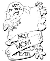 25 Mothers Day Coloring Pages For Kids