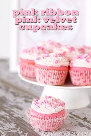 Pink Ribbon Velvet Cupcakes Raising Money For Susan G Komen The Cure