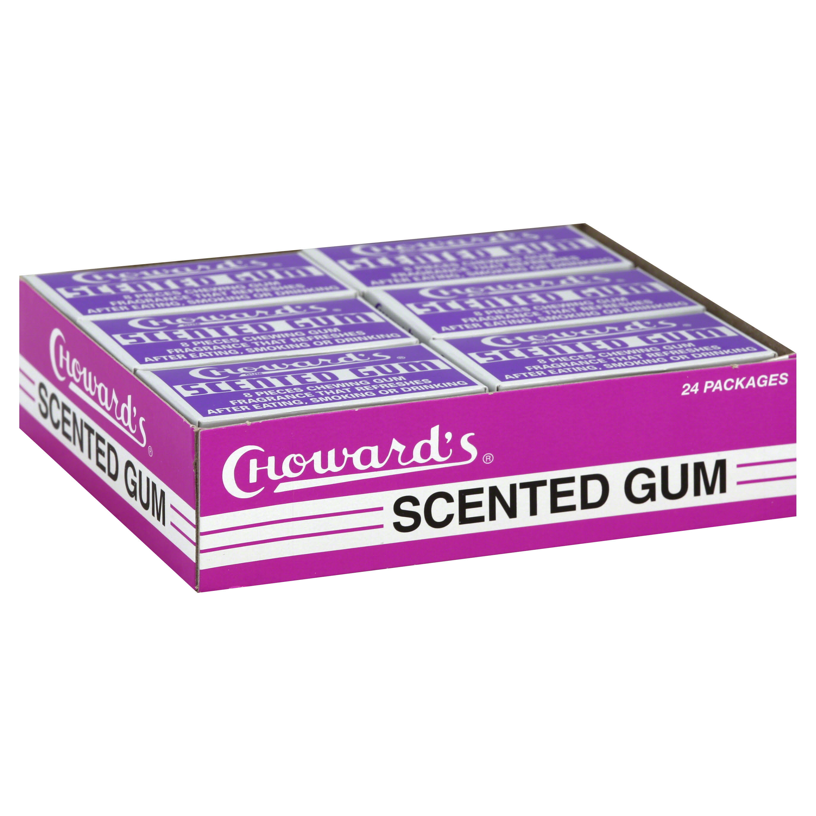 Chowards Scented Chewing Gum - 8pcs