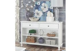 White Cottage Console Table