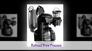 KitchenAid KCM1402OB 14 Cup Glass Carafe Coffee Maker Onyx Black