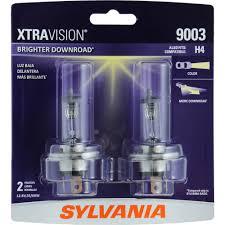 sylvania 9003 hb2 xtravision headlight contains 2 bulbs walmart