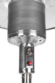 Fire Sense Deluxe Patio Heater Stainless Steel by Natural Gas Patio Heaters Interior Design