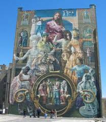 Philly Mural Arts Tour by Mural Art Tours The Rocky Steps At The Philadelphia Museum And