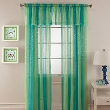 Thermal Curtains Bed Bath And Beyond by Mermaid Rod Pocket Window Curtain Panel Bed Bath U0026 Beyond