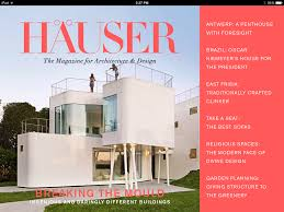 100 Architecture Design Magazine Review HUSER The IPad For And