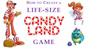 How To Create A Life Size Candy Land Game