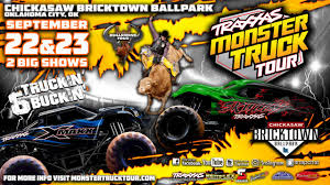100 Monster Trucks Games And Bull Riders To Take Over Chickasaw
