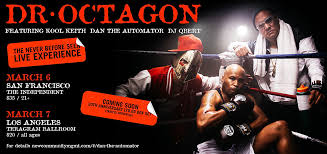 Dr Octagon Announces First Ever Live Performances With Original