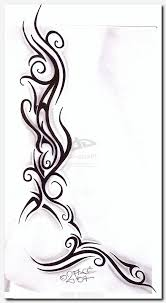Tribaltattoo Tattoo Designs For Womens Thighs Moon Tribal Cool Gothic