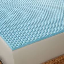 Kohls Bed Toppers by Arctic Sleep By Pure Rest Cool Blue 1 1 2 Inch Memory Foam
