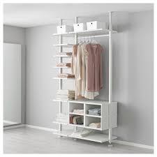 Floor To Ceiling Tension Rod Shelves by Elvarli Post Ikea