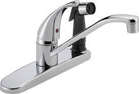 Peerless Kitchen Faucet Problems by Peerless P114lf Classic Single Handle Kitchen Faucet Chrome