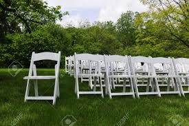 Rows Of White Folding Chairs From An Outdoor Wedding Stock Photo ... Folding Garden Chair Black Torre Sol 72 Outdoor Darwen Wayfaircouk Cover Rentals Nh Wedding Sash Tables And Chairs 1888builders Plastic Foldable With Metal Legswhite Simple Tasures Stationary Cversation With Strap Whosale Americana Chairswhite Wood Drawing At Getdrawingscom Free For Personal Use Lakes Region Tent Event On Sale White Target Tc Office Morph Polypropylene 9 Splendid Fold Up Gallery Home Patio Design