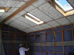 100 insulating cathedral ceiling with rigid foam vaulted