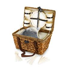 Trash Cans Bed Bath Beyond by Bamboo 21 Piece Insulated Picnic Basket Bed Bath U0026 Beyond