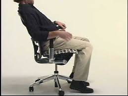 Haworth Zody Chair Manual by Zody Adjustment Video Youtube