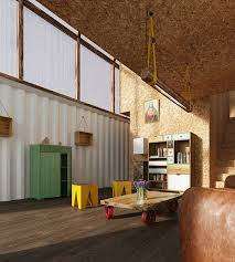 100 Containers House Designs TRS Studio Envisions Shipping Containers As Affordable