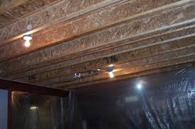 Best Airless Paint Sprayer For Ceilings by How To Paint A Basement Ceiling With Exposed Joists For An