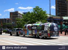 100 Airstream Truck Camper Pickup Truck Towing Camper Promoting Visit Austin Tourism