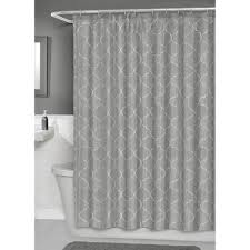 Walmart Canada Bathroom Curtains by Hometrends Concord Fabric Shower Curtain With Peva Liner Walmart