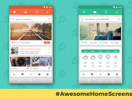 Awesome Android Home Screens The Sliding Stacker