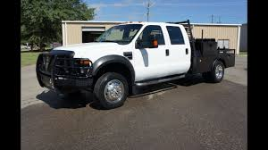 100 Ford Work Trucks 2008 FORD F450 4x4 FLATBED WORK TRUCK FOR SALE YouTube