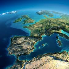 mountain ranges of europe fascinating relief maps show the world s mountain ranges
