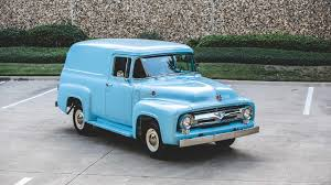 Ford Truck 1956 Ford F100 Panel Truck – CitizenCars