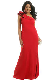 couture ruffle gown by carmen marc valvo for 70 rent the runway